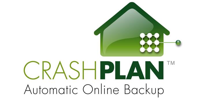 Crashplan automatic online backup
